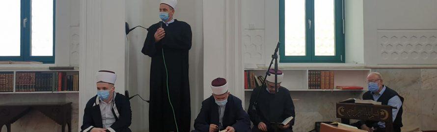 Hafiska mukabela u Bijeloj Džamiji
